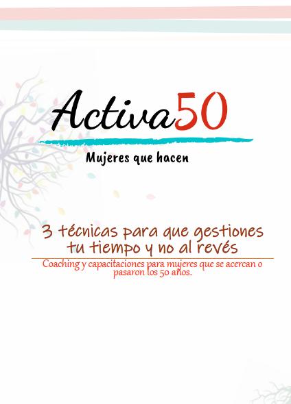 Coaching cursos Activa50